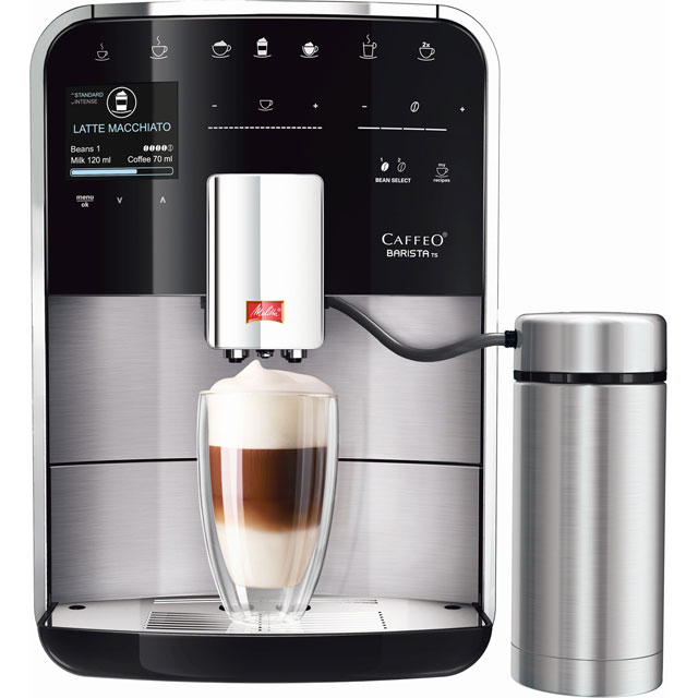 Melitta Barista TS 6758351 Bean To Cup in Stainless Steel