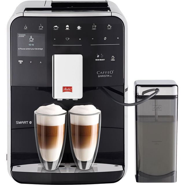 Melitta Barista TS Smart 6764549 Bean to Cup Coffee Machine - Black - 6764549_BK - 1