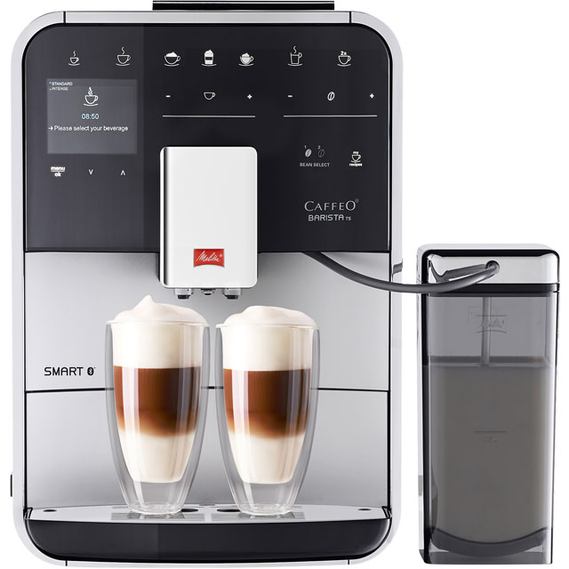 Melitta Barista TS Smart 6764548 Bean to Cup Coffee Machine - Silver