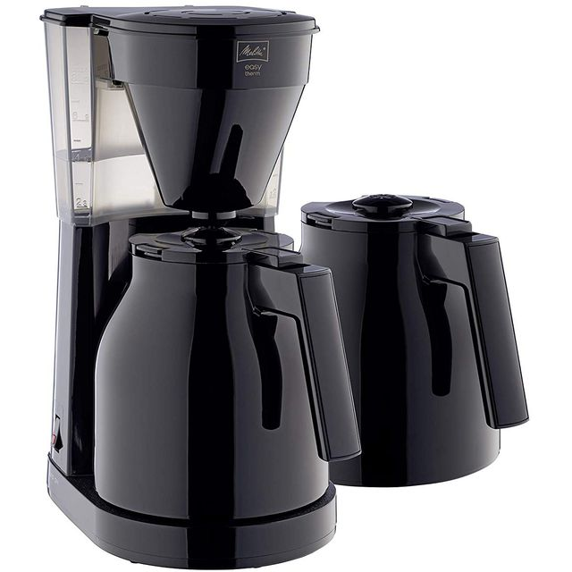 Melitta Easy Therm II 1023-06 6762893 Filter Coffee Machine - Black