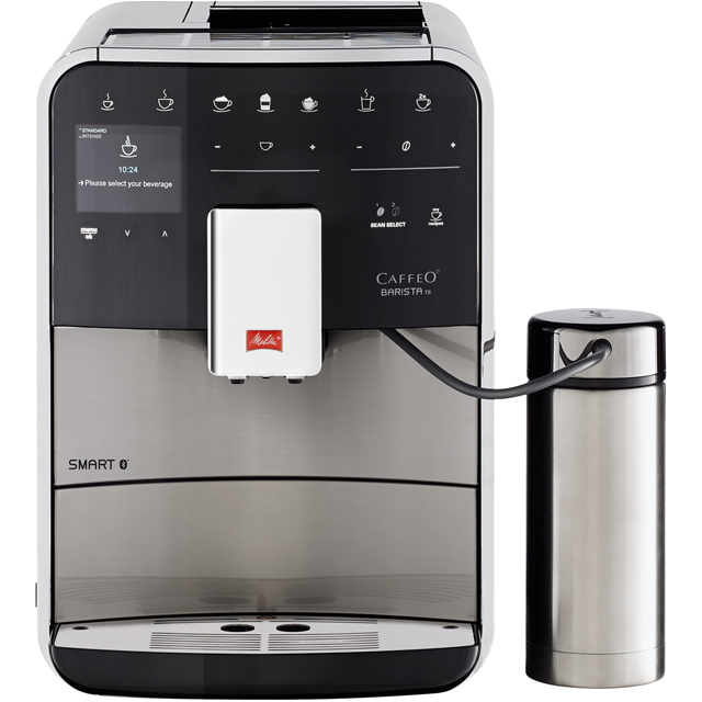 Melitta Barista TS Smart 6764554 Bean to Cup Coffee Machine - Stainless Steel Best Price, Cheapest Prices