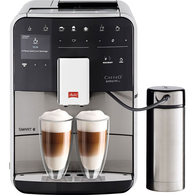 Melitta Barista TS Smart 6764554 Bean to Cup Coffee Machine - Stainless Steel - 6764554_SS - 1