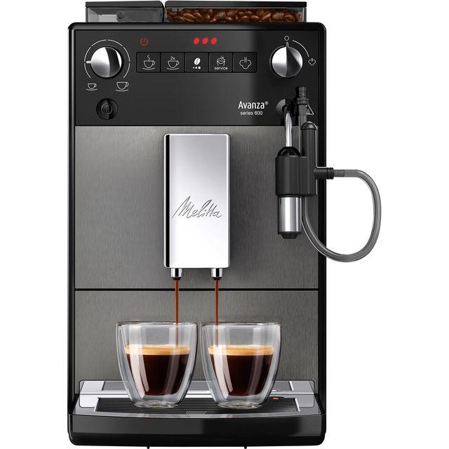 Melitta Avanza Mystic Titan F270-100 6767843 Bean to Cup Coffee Machine - Titan Grey