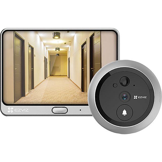Image of EZVIZ DP1C Smart Door Viewer HD 720p - White