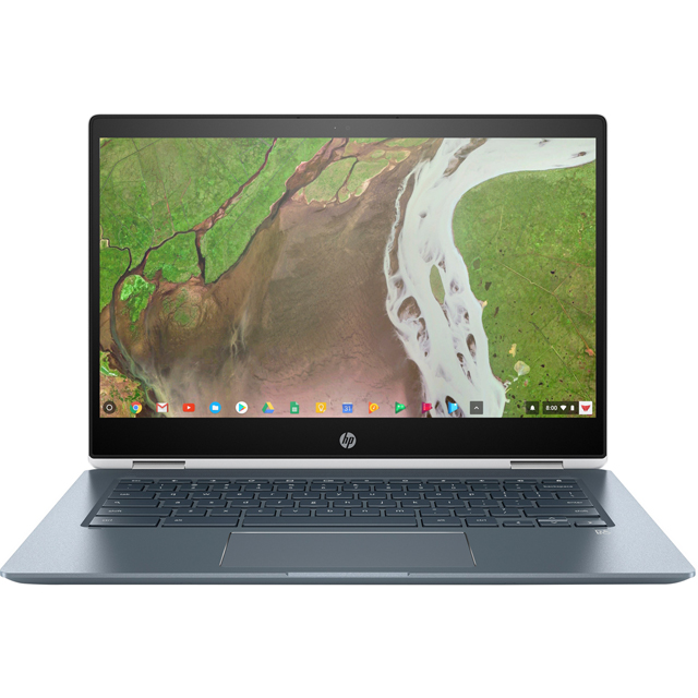 "HP x360 14-da0001na 14"" Full HD 2-in-1 Chromebook - White - 6BG49EA#ABU - 1"