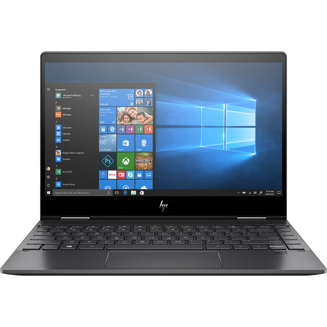 "HP Envy 360 13-ar0001na 13.3"" 2-in-1 Laptop - Black - 6BL15EA#ABU - 1"