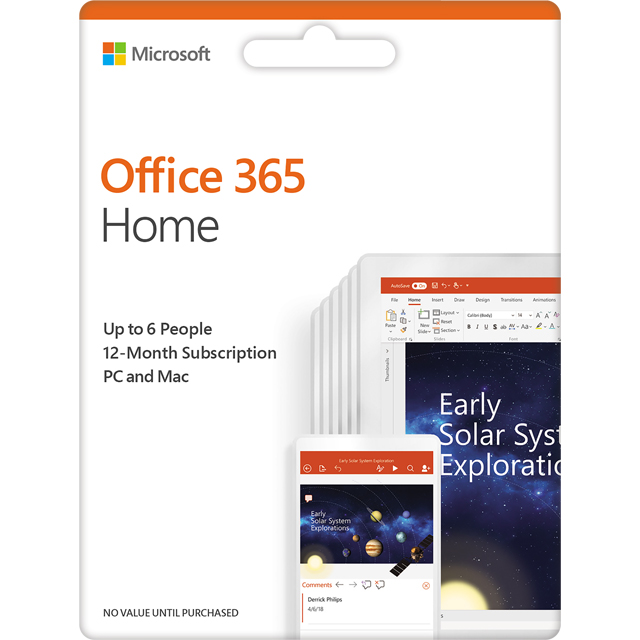 Microsoft Office 365 Home Software review