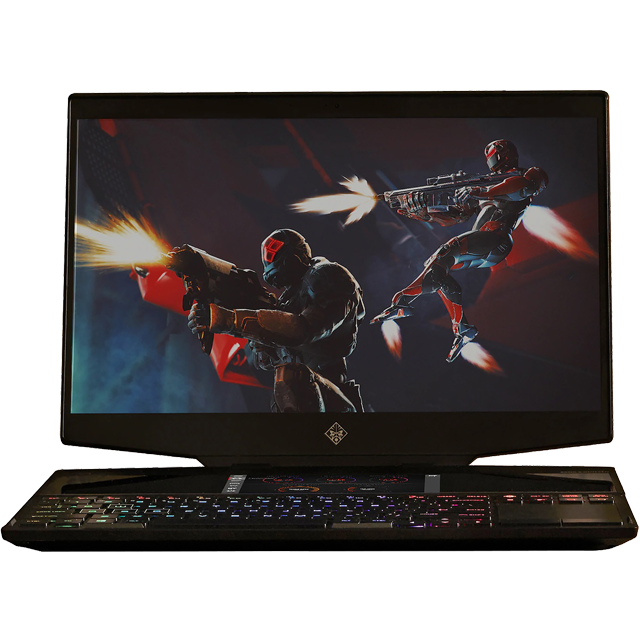 "HP Omen X 15-dg0001na 15.6"" Gaming Laptop - Shadow Black - 6PY73EA#ABU - 1"