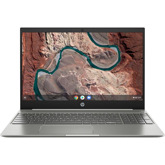 """HP 15-de0000na 15.6"""" Chromebook - White"""