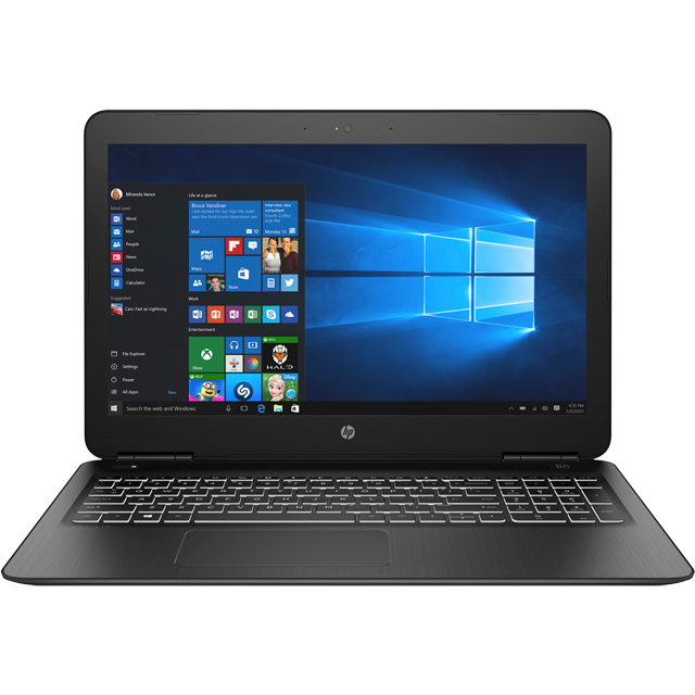 "HP Pavilion 15-bc500na 15.6"" Laptop - Shadow Black - 6RS54EA#ABU - 1"