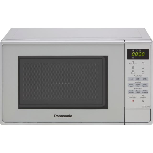 Panasonic NN-K18JMMBPQ 20 Litre Microwave With Grill - Silver
