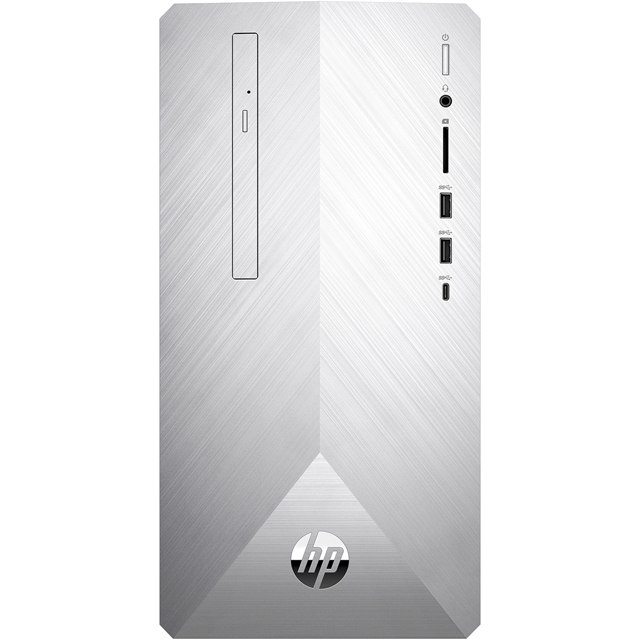 HP Pavilion 590-p0069na Tower - Natural Silver - 6WS22EA#ABU - 1