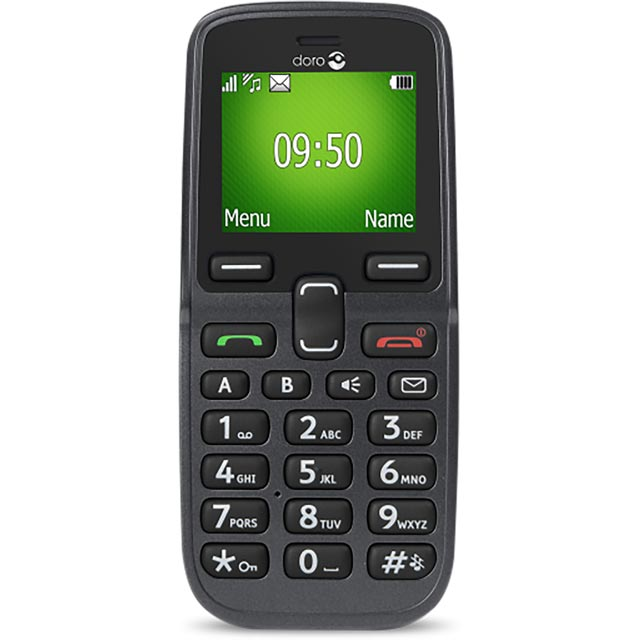 Doro 5030 Candy Bar Phone in Graphite