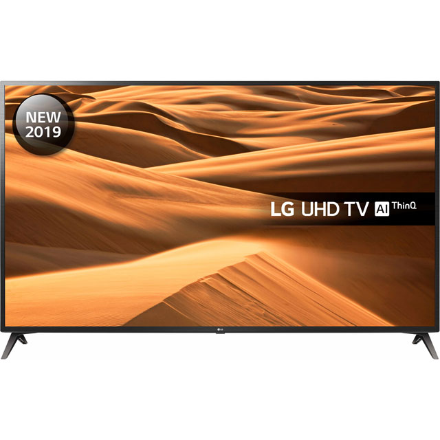 "LG 70UM7100PLA 70"" Smart 4K Ultra HD TV with HDR10, True Colour Accuracy and Freeview Play - 70UM7100PLA - 1"