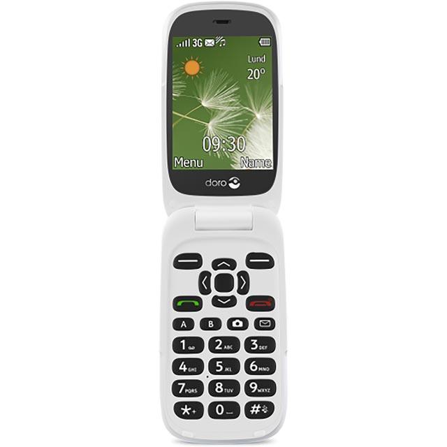 Doro Doro 6520 7118 Mobile Phone in White / Grey