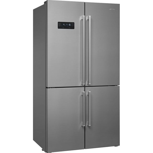 Smeg FQ60XDF American Fridge Freezer - Stainless Steel - F Rated