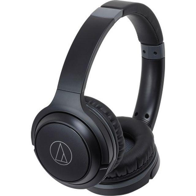 Image of Audio Technica ATH-S200BT Bluetooth Headphones - Black