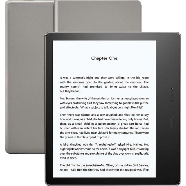 "Image of Amazon Kindle Oasis 7"" Tablet - Graphite"