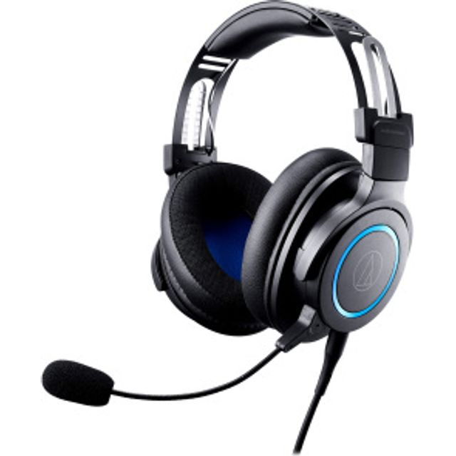 Image of Audio Technica ATH-G1 Wired Gaming Headset - Black