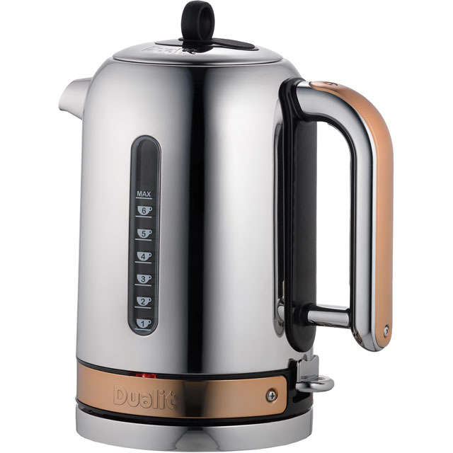 Dualit Classic 72820 Kettle - Chrome / Copper