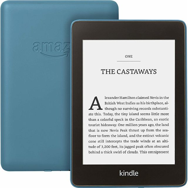 """Image of Amazon Kindle Paperwhite 6"""" Tablet - Blue"""