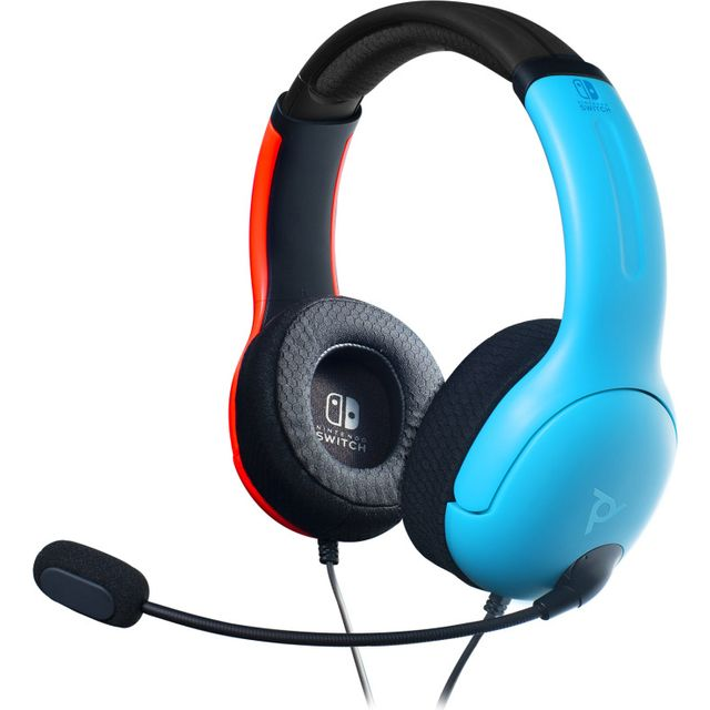 PDP LVL40 Gaming Headset For Nintendo Switch - Red / Black