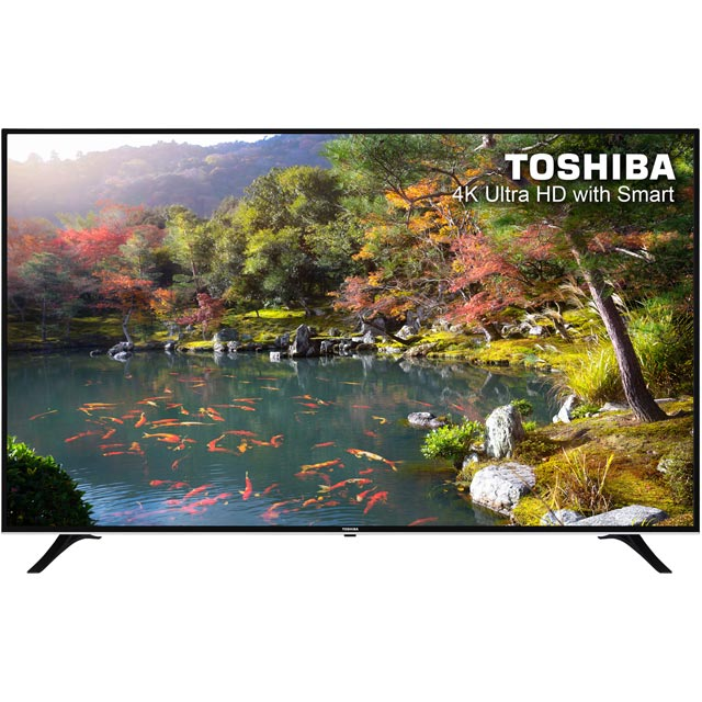 Toshiba 75u6763db Led Tv in Black