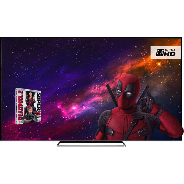 "Toshiba 75"" Smart 4K Ultra HD TV with HDR and Freeview Play - Black Gloss - [A+ Rated]"
