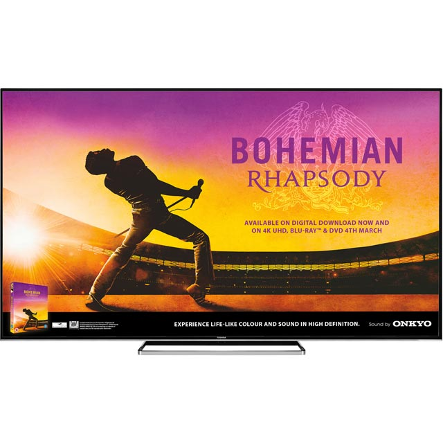 "Toshiba 75U6863DB 75"" Smart 4K Ultra HD TV - Black Gloss - 75U6863DB - 1"