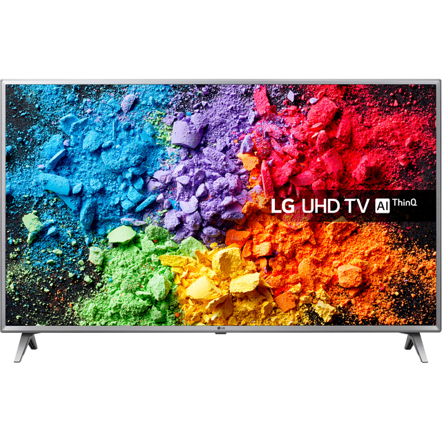 "LG 75UK6500PLA 75"" Smart 4K Ultra HD TV with HDR and Freeview Play - 75UK6500PLA - 1"