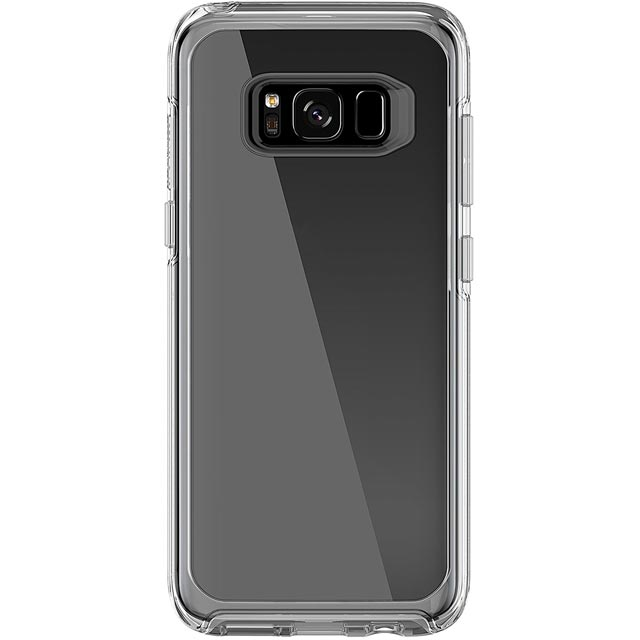 Otterbox Symmetry Series Clip Case for Galaxy S8 Plus - Clear Crystal