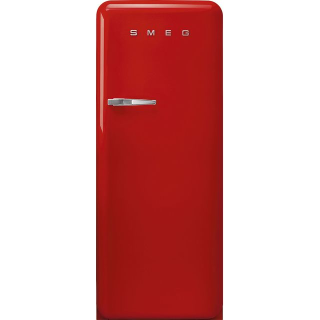 Smeg Right Hand Hinge FAB28RRD5UK Fridge - Red