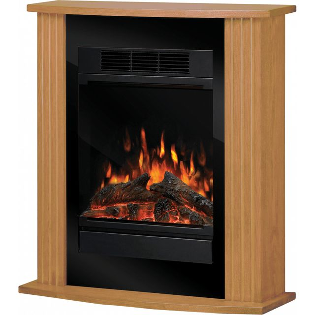 Dimplex Orvieto MCFP150-E Log Effect Suite And Surround Fireplace - Oak