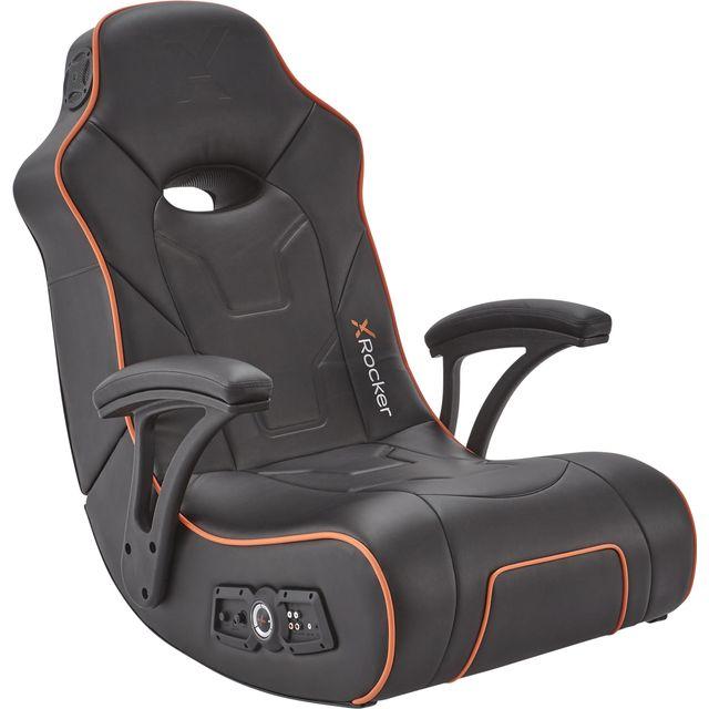 X Rocker G-Force 2.1 Floor Rocker Gaming Chair - Black