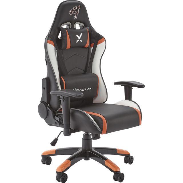 X Rocker Agility Junior PC Gaming Chair - Black / Grey