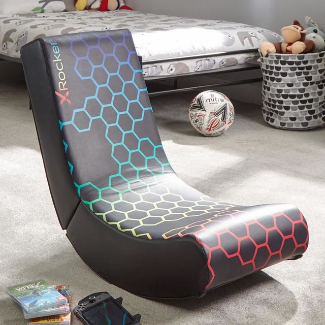 X Rocker Neo Hex Edition Gaming Chair - White