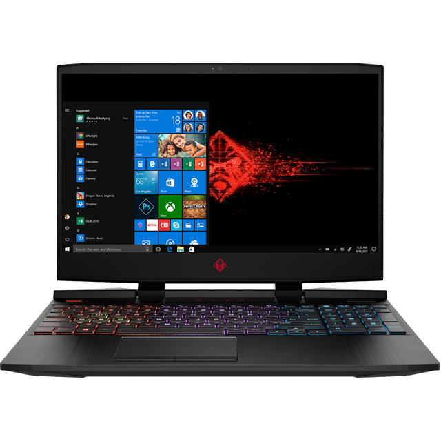 "HP Omen 15-dc1044na 15.6"" Gaming Laptop - Shadow Black - 7DY22EA#ABU - 1"