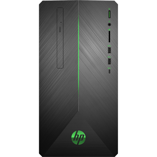 HP Omen 690-0040na Gaming Tower - Shadow Black - 7EC02EA#ABU - 1