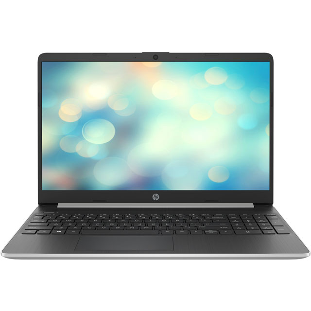 "HP 15s-fq0002na 15.6"" Laptop - Natural Silver - 7EC97EA#ABU - 1"