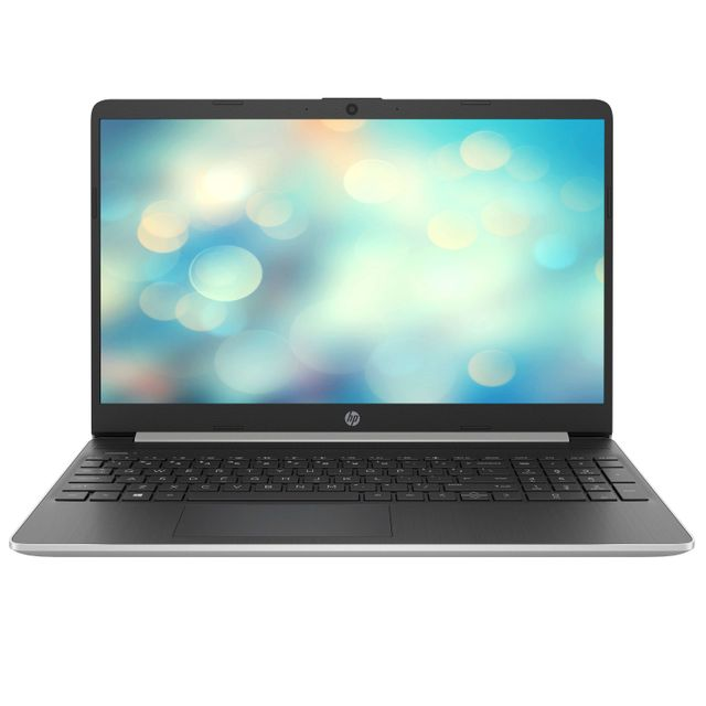 "HP 15s-fq0008na 15.6"" Laptop - Natural Silver - 7GM19EA#ABU - 1"