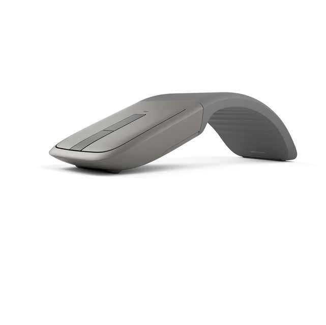 Microsoft Arc Touch Wireless Optical Mouse - Grey