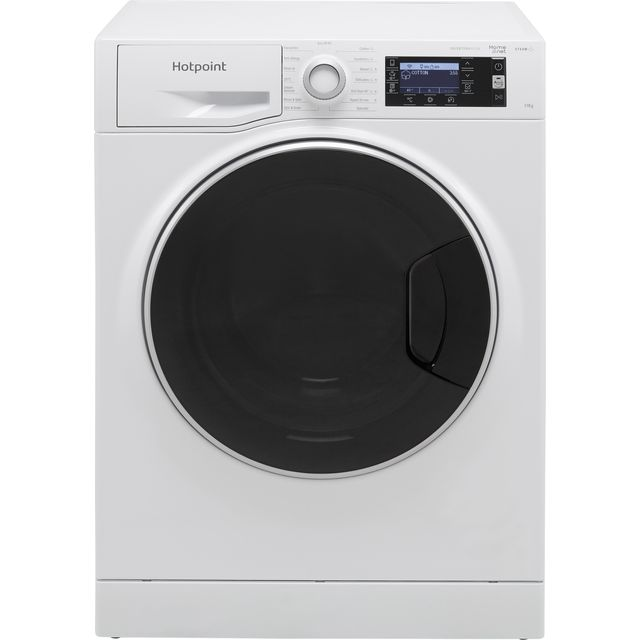 Hotpoint ActiveCare NLCD1164DAWUKN Wifi Connected 11Kg Washing Machine with 1600 rpm - White - C Rated