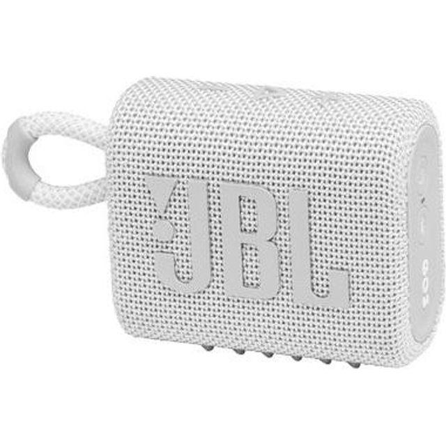 JBL GO3 Wireless Speaker - White