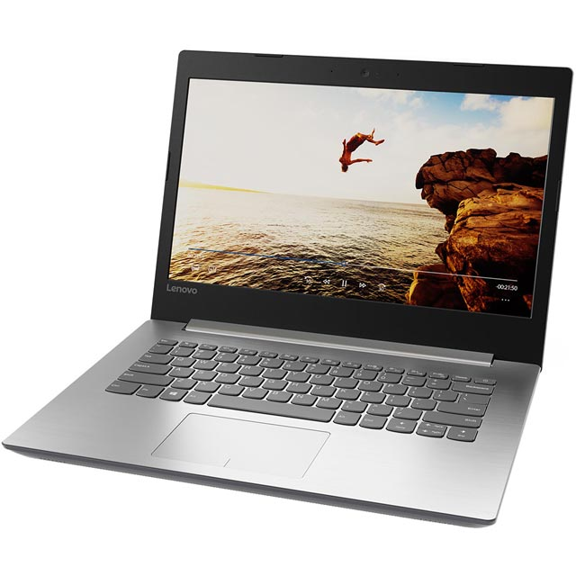 "Lenovo IdeaPad 320-14IAP 14"" Laptop - Platinum Grey - 80XQ0056UK - 1"