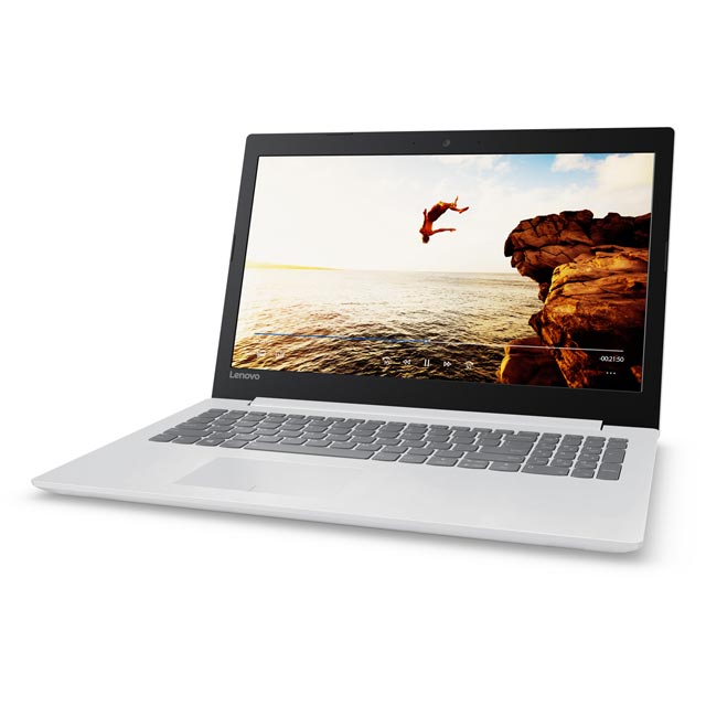 "Lenovo IdeaPad 320 15"" Laptop - Blizzard White - 80XR0081UK - 1"