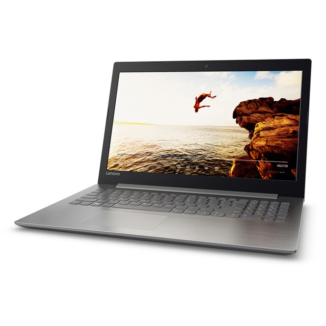 "Lenovo Ideapad 320-15AST 15.6"" Laptop - Grey"