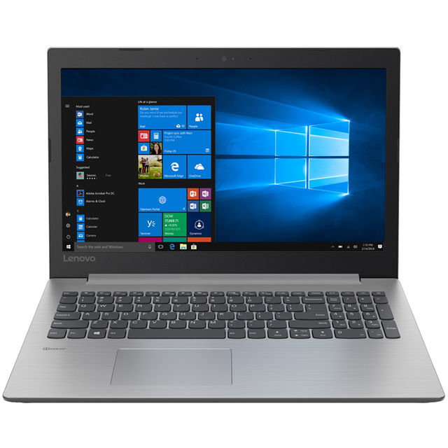 "Lenovo Ideapad 330-15AST 15.6"" Laptop - Platinum Grey - 81D600HAUK - 1"