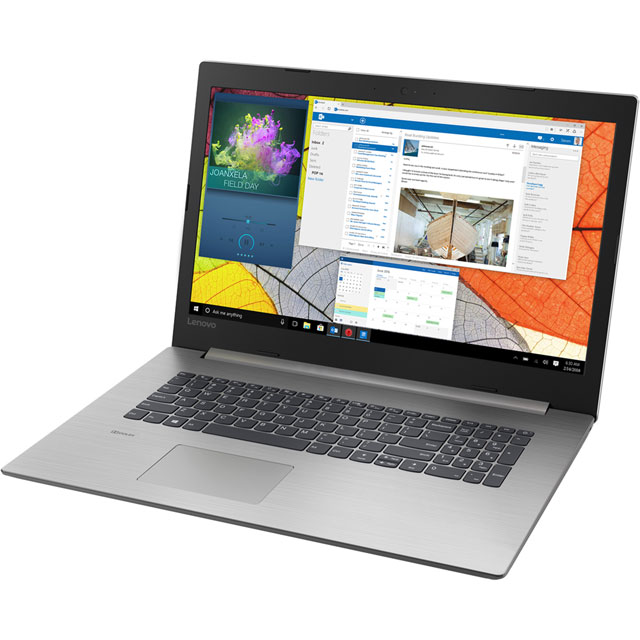 "Lenovo Ideapad 330-15IKB 15.6"" Laptop - Platinum Grey - 81DC0082UK - 1"