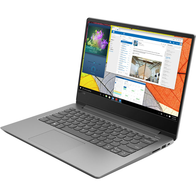 "Lenovo Ideapad 330S-14AST 14"" Laptop - Platinum Grey - 81F80012UK - 1"