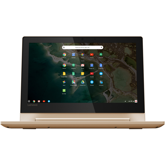"Lenovo C330 11.6"" 2-in-1 Chromebook - Champagne - 81HY0009UK - 1"
